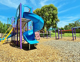 Eurelia Road Reserve Playground Multistation 3