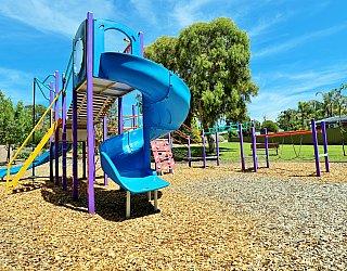 Eurelia Road Reserve Playground Multistation 3