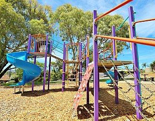 Eurelia Road Reserve Playground Multistation 6