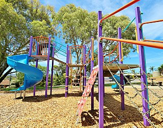 Eurelia Road Reserve Playground Multistation 6