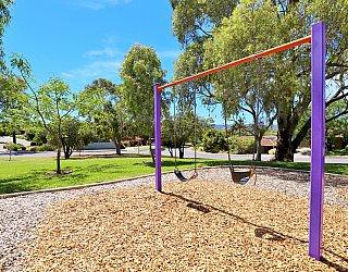 Eurelia Road Reserve Playground Swings 1