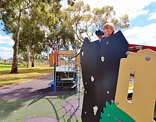 Glandore Oval Playground Multistation 1 Xb