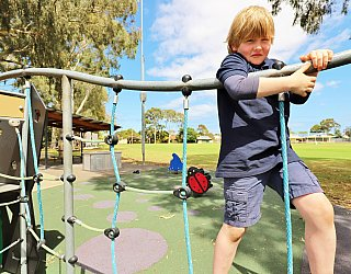 Glandore Oval Playground Multistation 4 Xb