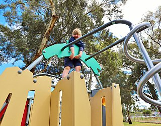 Glandore Oval Playground Multistation 7 Xb