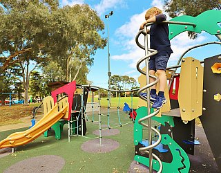 Glandore Oval Playground Multistation 8 Xb