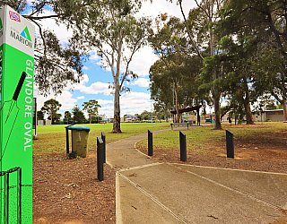 Glandore Oval Sign 1