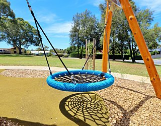 Clare Avenue Reserve Playground Basket Swing 1