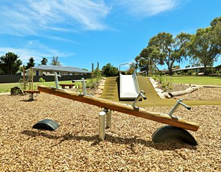 Clare Avenue Reserve Playground Seesaw 3