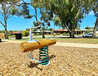 Clare Avenue Reserve Playground Springer 1