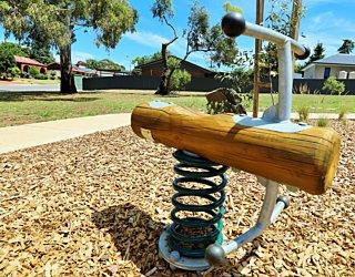 Clare Avenue Reserve Playground Springer 2