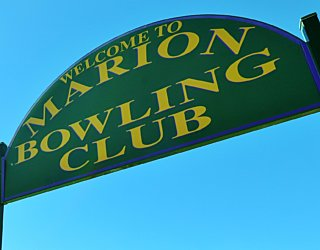 Marion Oval Lawn Bowls Sign 1
