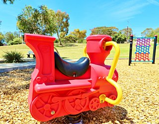 Nimboya Road Reserve Playground Train 1