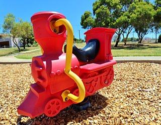 Nimboya Road Reserve Playground Train 2