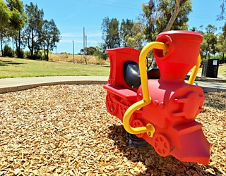 Nimboya Road Reserve Playground Train 3