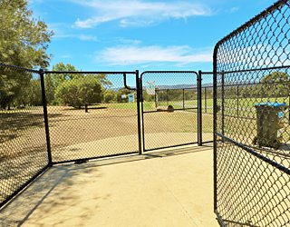 Reserve Street Reserve Dog Park Facilities Gates 1