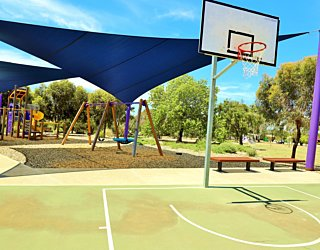 Reserve Street Reserve Playground Shade Basketball 2