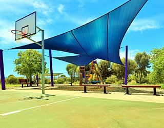 Reserve Street Reserve Playground Shade Basketball 4
