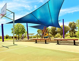 Reserve Street Reserve Playground Shade Basketball 5