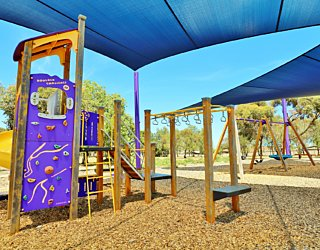 Reserve Street Reserve Playground Shade Multistation 2