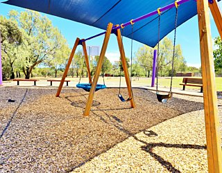 Reserve Street Reserve Playground Shade Swings 1