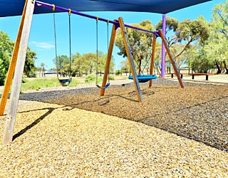 Reserve Street Reserve Playground Shade Swings 2
