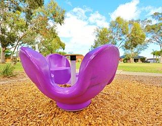 Rosslyn Street Reserve Playground Shade Carousel 1