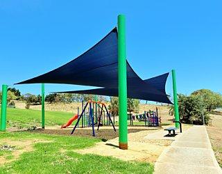Roy Lander Reserve Playground Shade 1