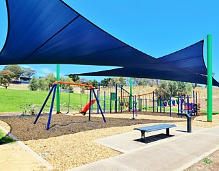 Roy Lander Reserve Playground Shade 2