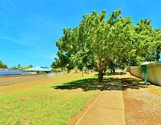 Sandy Glass Court Reserve Facilities Path 1