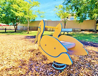 Sandy Glass Court Reserve Playground Springer 1