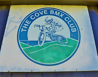 The Cove Sports Bmx Sign 2
