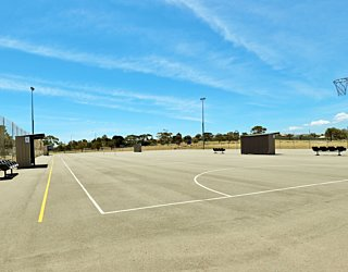 The Cove Sports Netball Courts 1