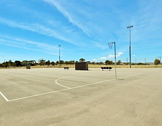 The Cove Sports Netball Courts 2