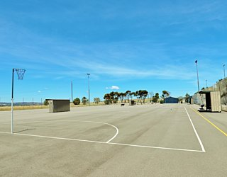 The Cove Sports Netball Courts 8