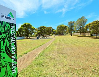 Westall Way Reserve Sign 1