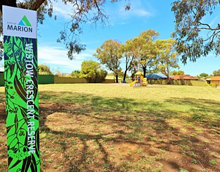 Wistow Crescent Reserve Sign 1