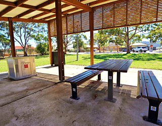 York Avenue Reserve Eastern End Facilities Picnic 1