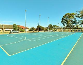 York Avenue Reserve Tennis Netball 2