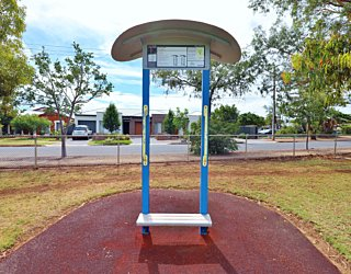 Scarborough Terrace Reserve 20190107 Fitness Equipment Station 8 Step Station 1
