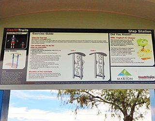 Scarborough Terrace Reserve 20190107 Fitness Equipment Station 8 Step Station 2