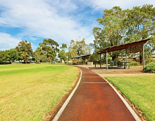 Scarborough Terrace Reserve 20190107 Sports Running Track 3