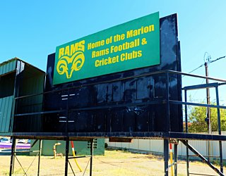 Marion Oval Eastern Field Afl Score Board 2
