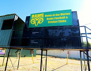 Marion Oval Eastern Field Afl Score Board 1