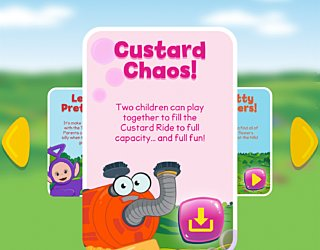 Biba Teletubbies Playground Pals Custard Chaos
