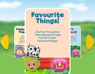 Biba Teletubbies Playground Pals Favourite Things