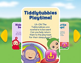 Biba Teletubbies Playground Pals Tiddlytubbioes Playtime