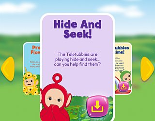 Biba Teletubbies Playground Pals Hide And Seek