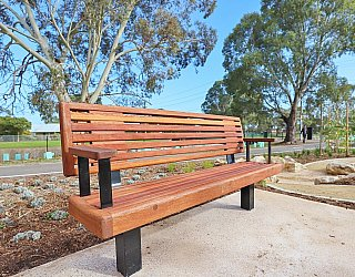 Appleby Road Reserve Facilities Seat 1
