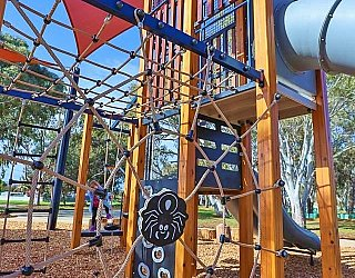 Appleby Road Reserve Playground Climbing Net 2