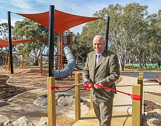 Appleby Road Reserve Playground Opening Kris Hanna 1